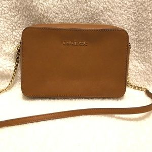 Michael Kors Saffiano Leather Crossbody Bag
